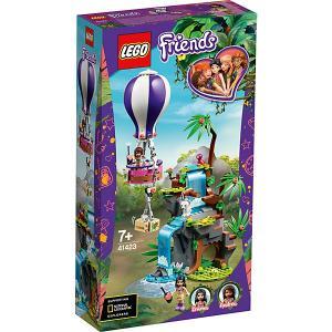 Конструктор  Friends 41423: Джунгли: спасение тигра на воздушном шаре LEGO