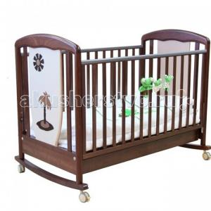 Детская кроватка  Vitalia качалка 125х65 Papaloni
