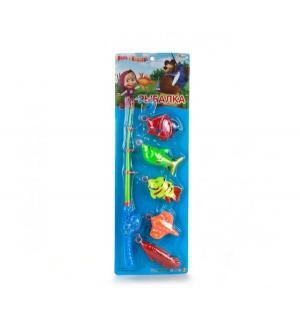 Игрушка для ванны  Рыбалка Маша и медведь, 57 см Играем Вместе