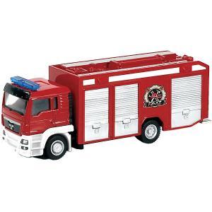Металлическая машинка  MAN Пожарная служба RMZ City. Цвет: разноцветный