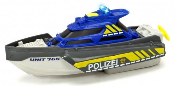 Полицеский катер 24 см Dickie