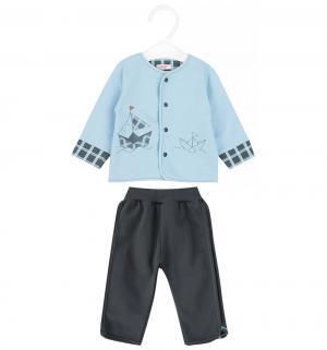 Комплект джемпер/брюки  Gabrys, цвет: голубой Sofija