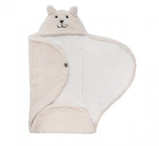 Меховое одеяло-конверт 100x105 см Jollein