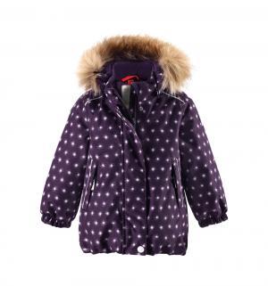 Куртка  Tec Pihlaja, цвет: фиолетовый Reima