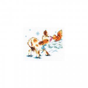 Набор для вышивания крестом «Тёплая встреча» Чудесная игла