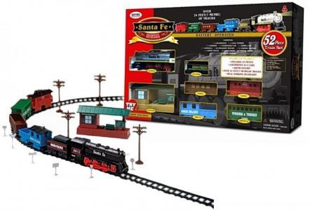 Железная дорога Santa Fe Special Train Set 52 части Eztec