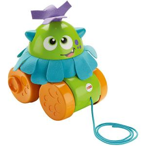 Игрушка-каталка Fisher-Price Играй и катай Монстрик Mattel
