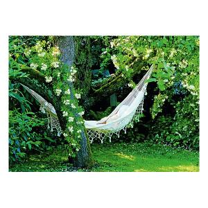 Пазл Heye Nature Гамак в саду, 1000 деталей