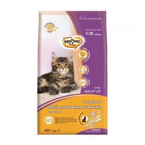 Сухой корм  Kitten для котят, индейка, 400 г Мнямс