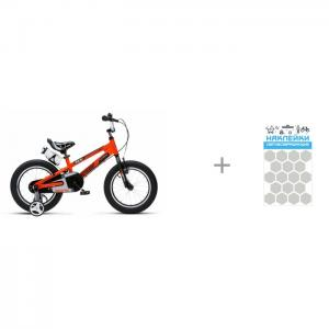 MaxCity Шлем Roller Liner и детский велосипед  Freestyle Space №1 Alloy 18 Royal Baby