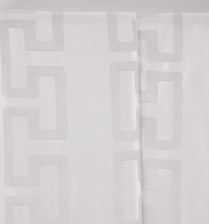Комплект постельного белья  2-х спальный/нав. 50х70 Линия любви, цвет: серый Василиса