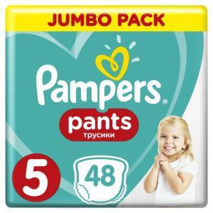 Подгузники-трусики Pants Junior р.5 (12-17 кг) 48 шт. Pampers