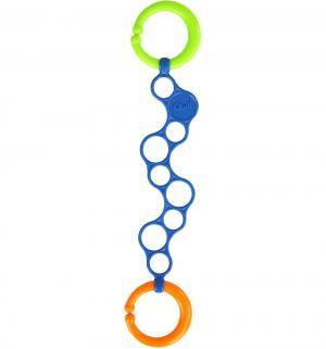 Держатель для игрушек  Колечки O-Links, цвет: синий, 30 см Oball