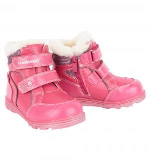 Ботинки , цвет: коралловый Flamingo