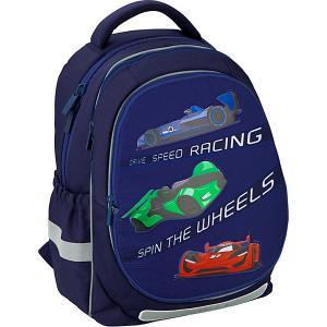 Рюкзак  Education Fast cars Kite. Цвет: темно-синий