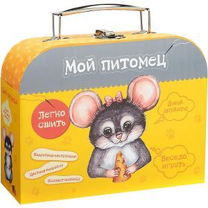 Набор для творчества Мой уютный домик Сшей игрушку Мышонок Бумбарам. Цвет: разноцветный