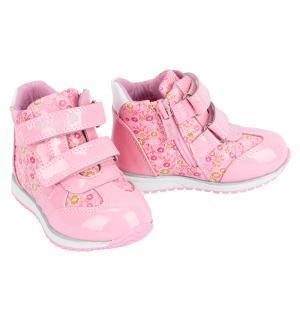 Ботинки , цвет: розовый Bi&Ki