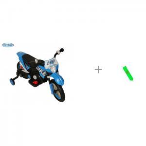 Электромобиль  Электромотоцикл Cross YM68 и светоотражатель браслет Чудо-чадо Barty ЭлектромотоциклCross