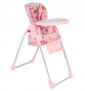 Стульчик для кормления  BH-435, цвет: розовый Selby