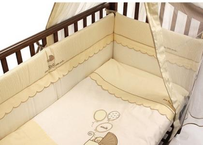 Комплект в кроватку  Smile 125х65 (5 предметов) Funnababy