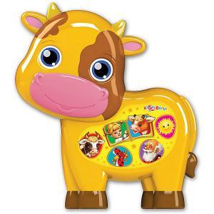 Музыкальная игрушка  Любимая сказочка Бычок - смоляной бочок Азбукварик. Цвет: разноцветный