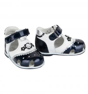 Туфли , цвет: синий/белый Elegami