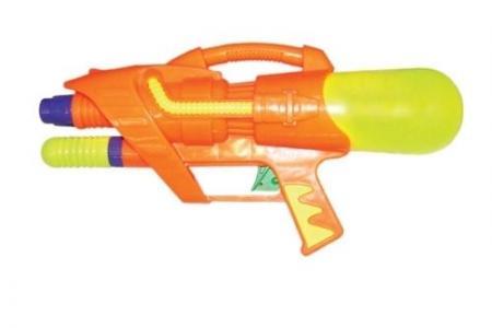 Водный пистолет  С помпой салатовый Тилибом