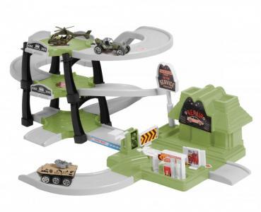 Паркинг 3-уровневый Военная часть (30 деталей) BeBoy
