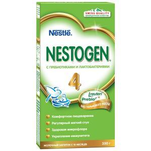 Детское молочко  4 с 18 месяцев, 350 г Nestogen