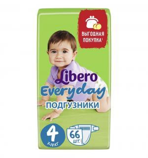 Подгузники  Every Day 4 (7-18 кг) 66 шт. Libero
