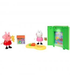 Игровой набор  Пеппа и Сьюзи играют в игры Peppa Pig