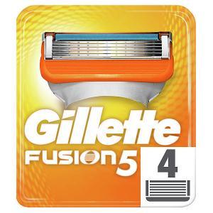 Сменные кассеты  Fusion5, 4 шт Gillette