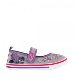 Туфли текстильные , цвет: сиреневый My Little Pony