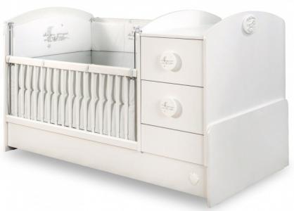 Кроватка-трансформер  Baby Cotton 160х75 см Cilek