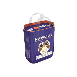 Трусики-подгузники  Night L 9-14 кг, 19 шт Lovular. Цвет: разноцветный