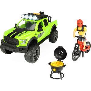 Игровой набор велосипедиста  Ford Raptor PlayLife, 25 см Dickie Toys