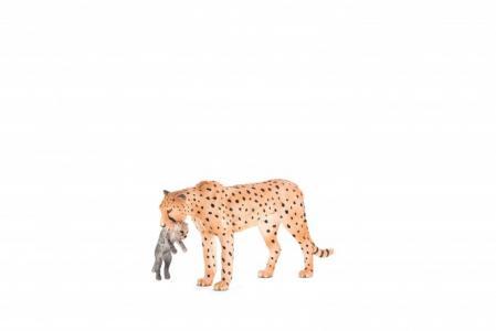 Animal Planet Гепард с детенышом в пасти XL Mojo