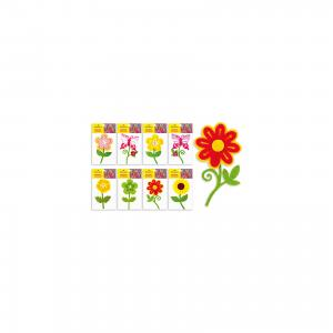 Фетровые аппликации Цветок 12*10 см (8 дизайнов) Schreiber
