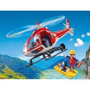 Конструктор Playmobil Вертолет горноспасателей, 6 деталей PLAYMOBIL®