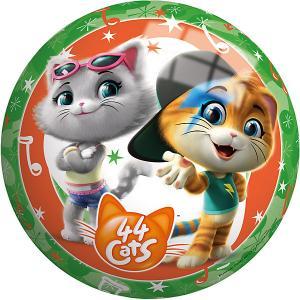 Мяч  44 котенка 23 см John. Цвет: зеленый