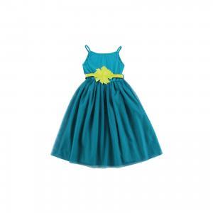 Платье для девочки Wojcik. Цвет: зеленый