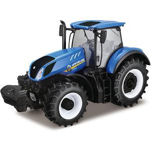 Трактор  New Holland Tractor, 1:32 Bburago
