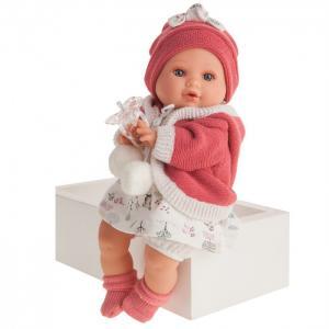 Кукла Инесса в коралловом озвученная 30 см Munecas Antonio Juan