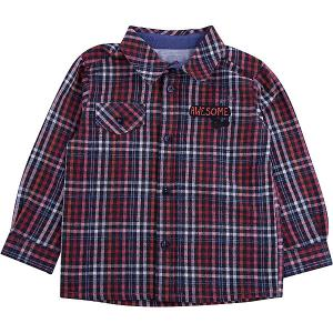 Рубашка  для мальчика Wojcik. Цвет: белый