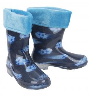 Резиновые сапоги , цвет: синий Рособувь