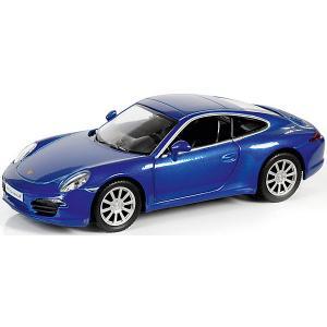 Металлическая машинка  Porsche 911 Carrera S 1:32, синий металлик RMZ City