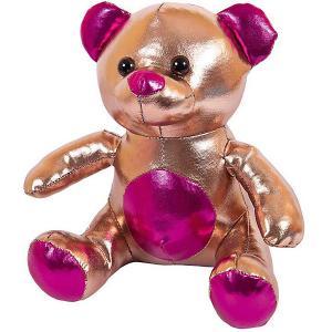 Мягкая игрушка  Металлик Медведь, 18 см ABtoys. Цвет: коричневый