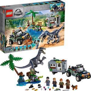 Конструктор  Jurassic World 75935: Поединок с бариониксом: охота за сокровищами LEGO