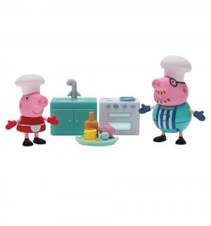 Игровой набор  Пеппа и Папа пекут блинчики Peppa Pig