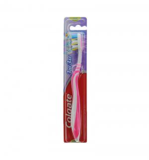 Зубная щетка  Зиг-Заг Плюс, цвет: розовый Colgate